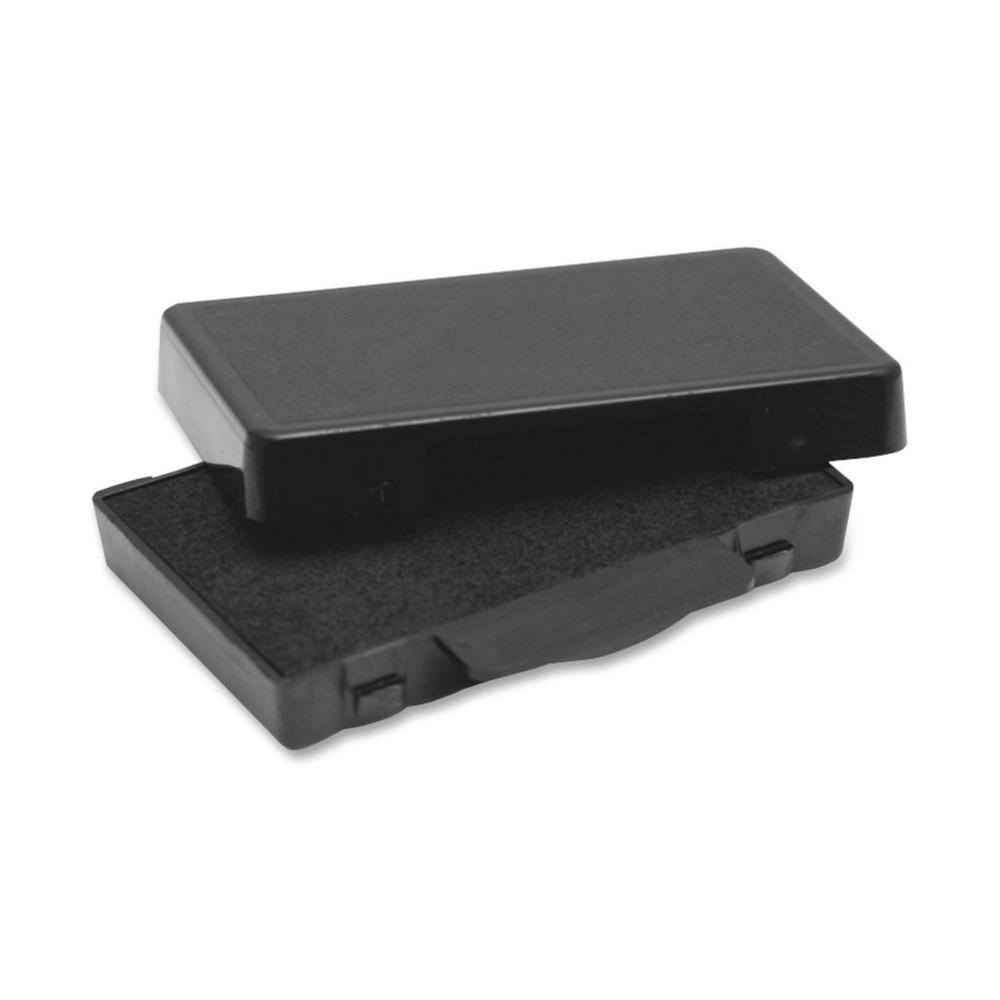 Trodat E4820 Replacement Ink Pad - 1 Each - Black Ink - Black - Plastic. Picture 1