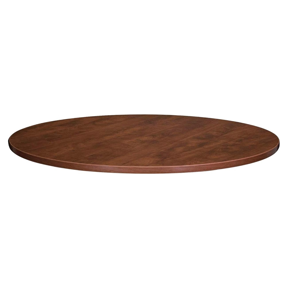 Lorell essentials conference table top round top table top width x table top - Inch round wood table top ...