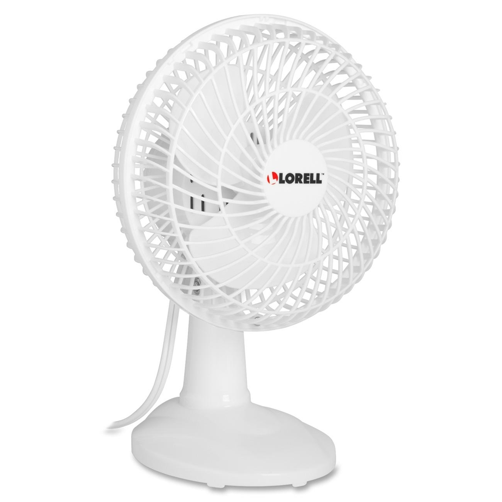 6 Inch Oscillating Desk Fan