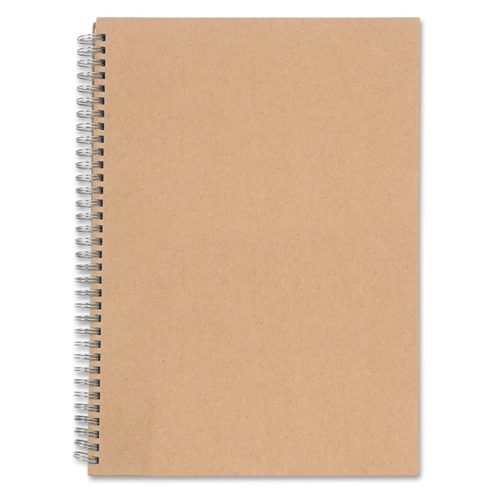 Nature Saver Hardcover Twin Wire Notebooks 80 Sheets