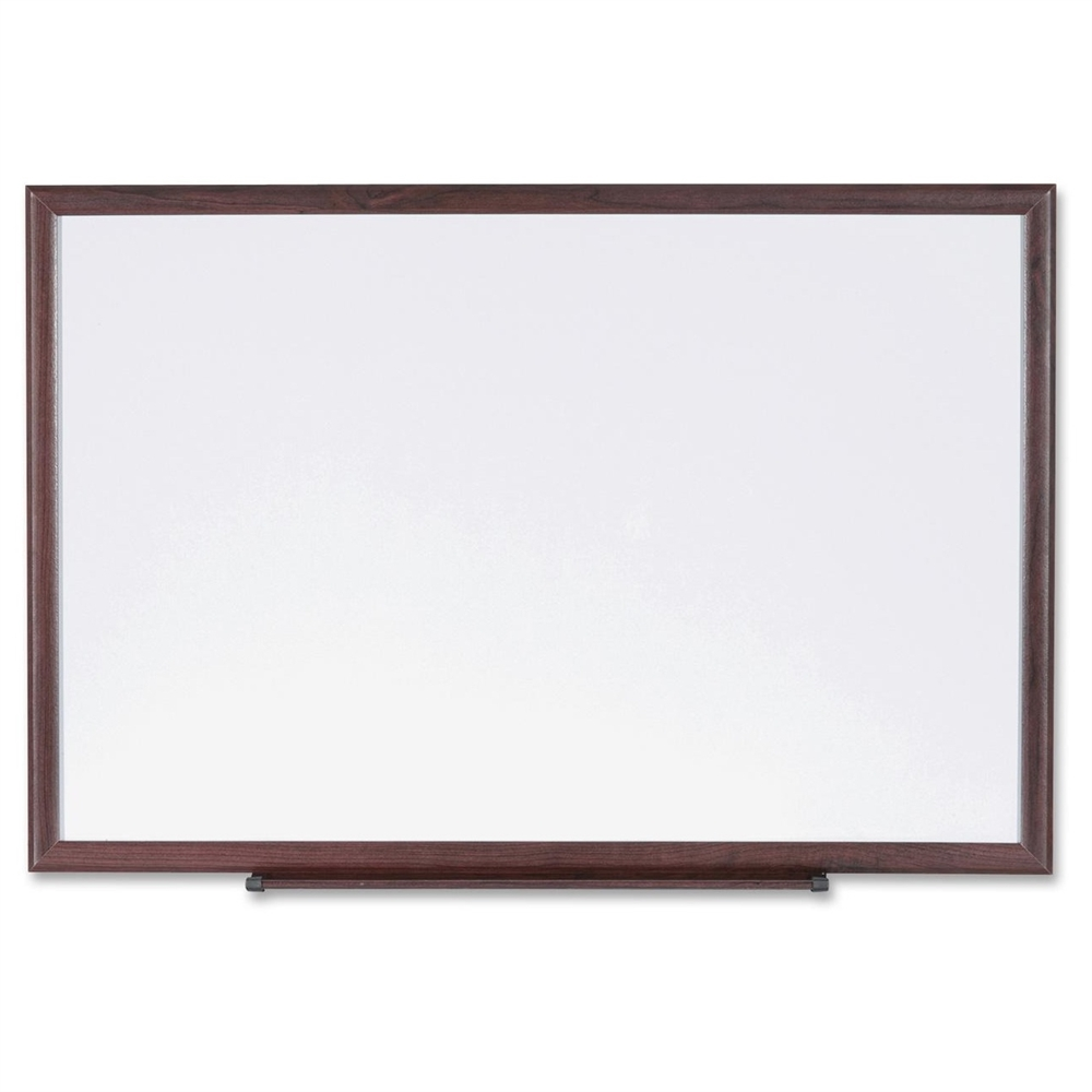 Lorell Wood Frame Dry Erase Marker Boards 48 Quot 4 Ft