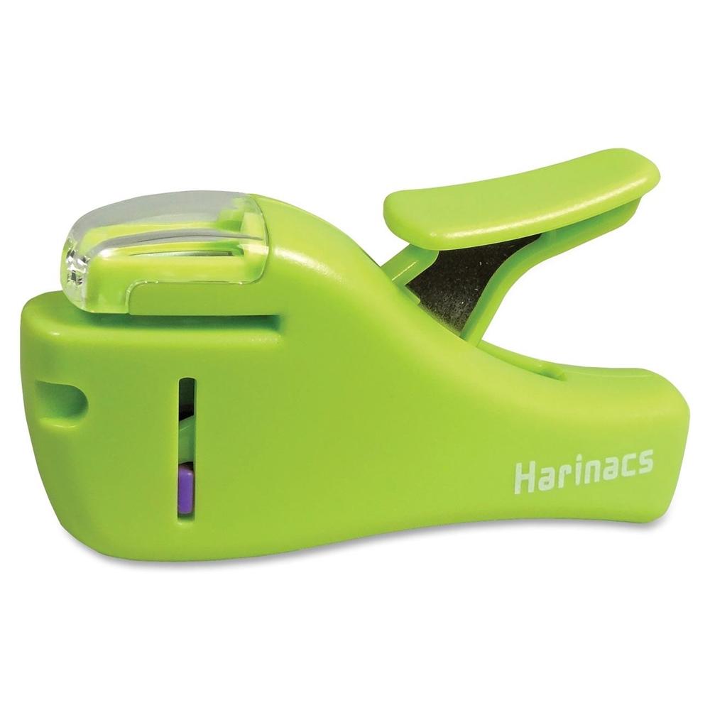 Staple Free Stapler 4 Sheets Capacity Light Green