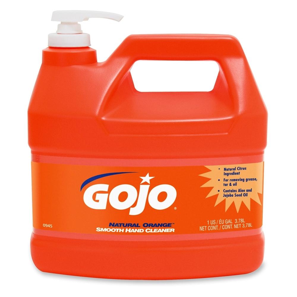 Gojo Natural Orange Smooth Hand Cleaner Citrus Scent 1