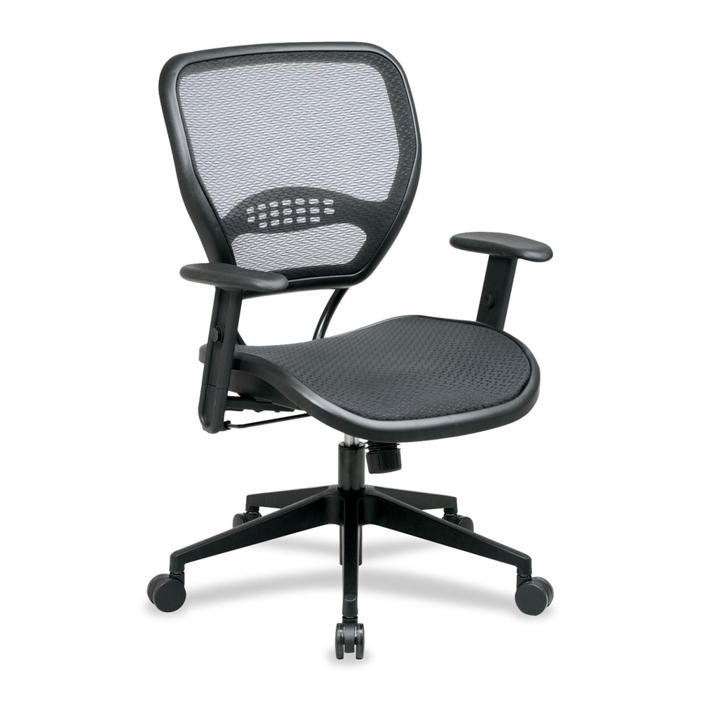 Office Star Matrex Mesh Back Task Chair Black Seat