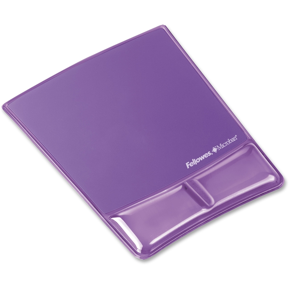 """Fellowes Wrist Support Mouse Pad - 9.9"""" x 8.3"""" x 0.9"""" Dimension"""