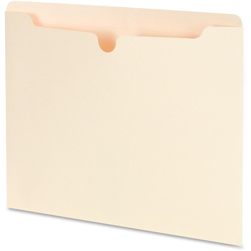 Sj Paper Reinforced Top Letter File Jackets Letter 8 1