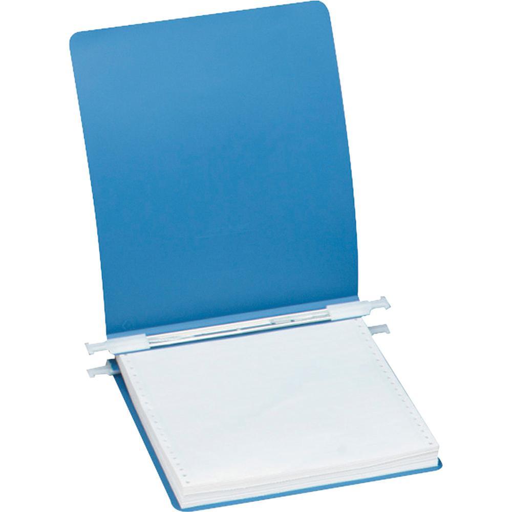 "Acco ACCOHIDE Unburst Sheet 23 point Covers - 6"" Binder Capacity - Letter - 8 1/2"" x 11"" Sheet Size - Pressboard - Blue - Recycled - Split Resistant, Crack Resistant, Tear Resistant, Flexible, Retract. Picture 1"
