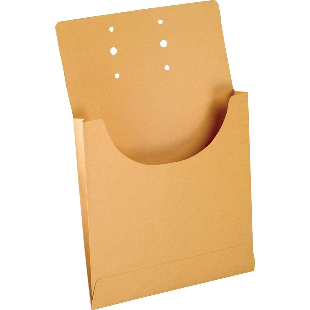 "Pendaflex Retention Jacket - Legal - 8 1/2"" x 14"" Sheet Size - 3/4"" Expansion - Kraft - Manila - 100 / Box. Picture 1"
