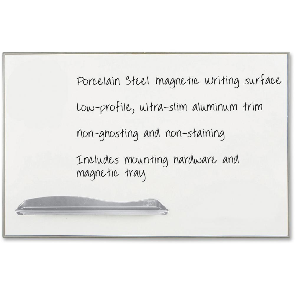 """Low Profile Porcelain Marker Boards - 48"""" (4 ft) W x 72"""" (6 ft) H. Picture 1"""