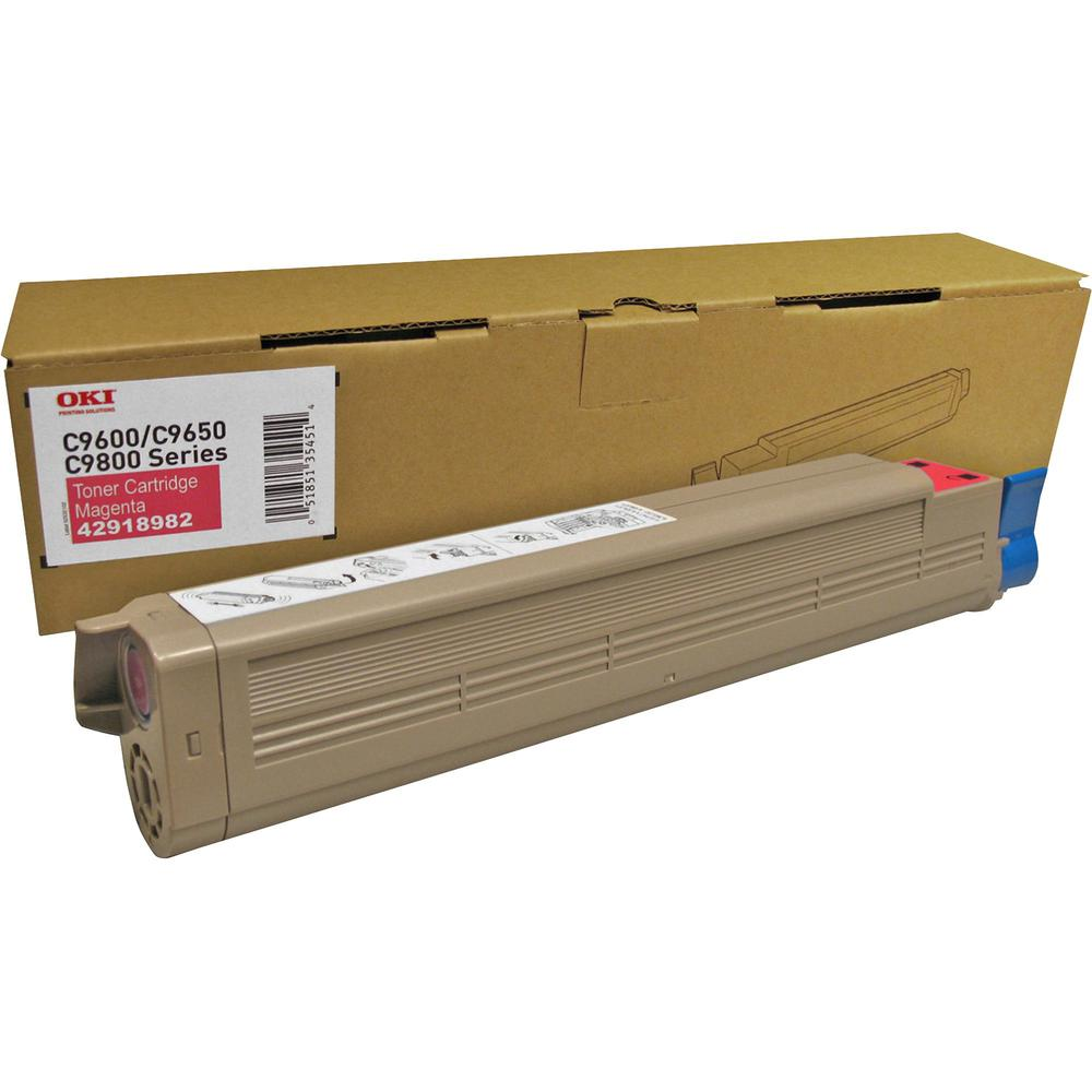 Oki Type C7 Original Toner Cartridge - Laser - 16500 Pages - Magenta - 1 Each. Picture 1