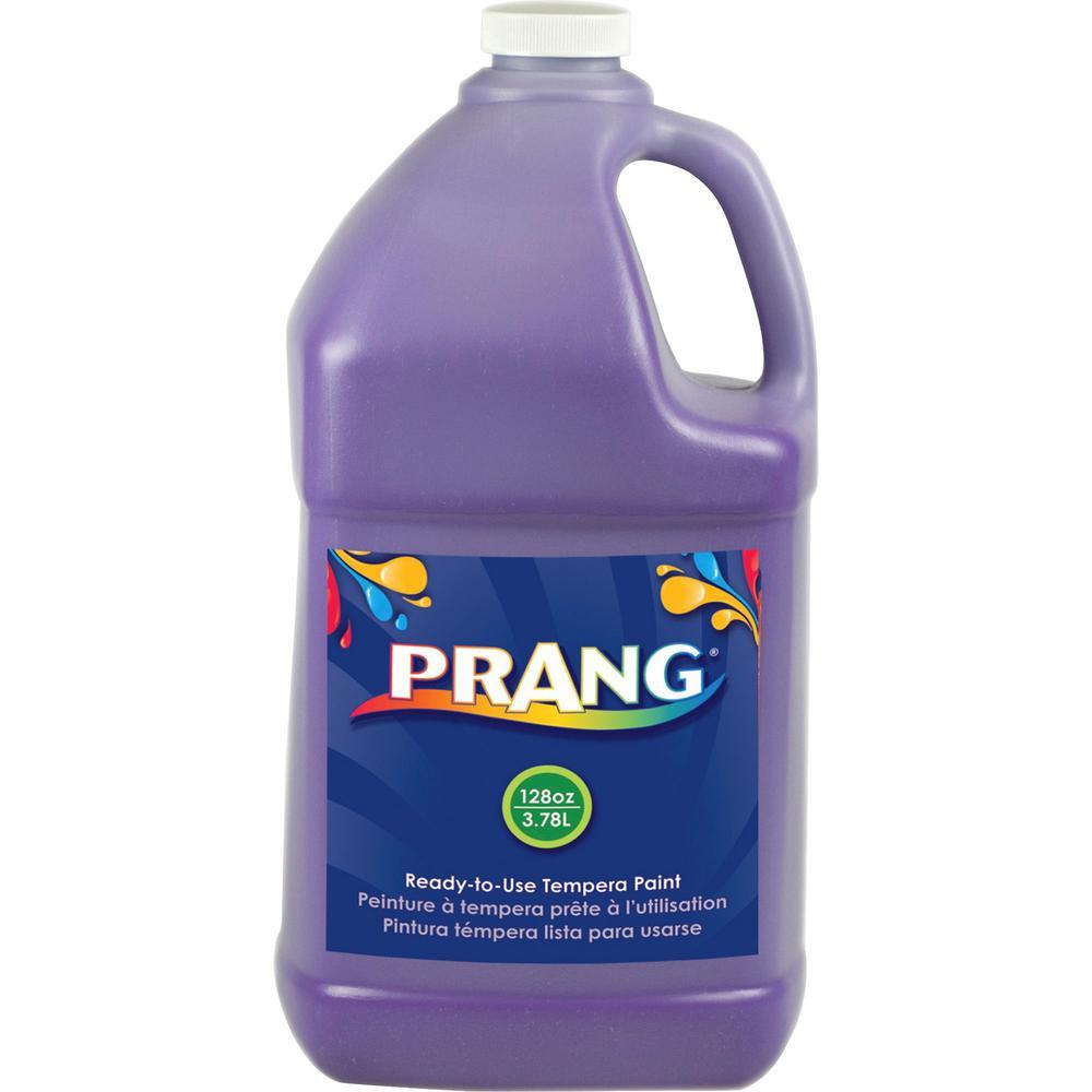 Prang Liquid Tempera Paint - 1 gal - 1 Each - Violet. Picture 1