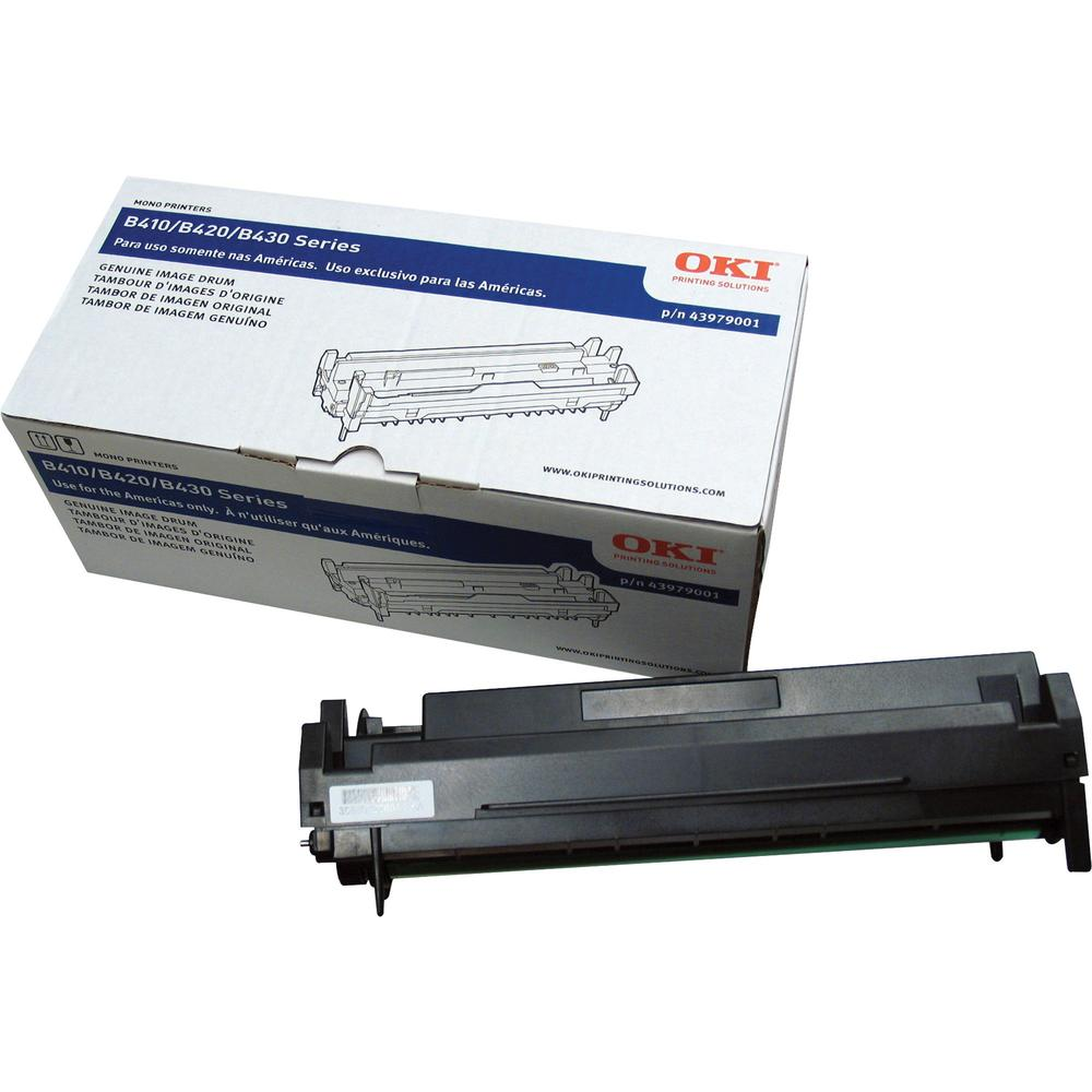 Oki 43979001 Image Drum - Laser Print Technology - 25000 - 1 Each - OEM. Picture 1