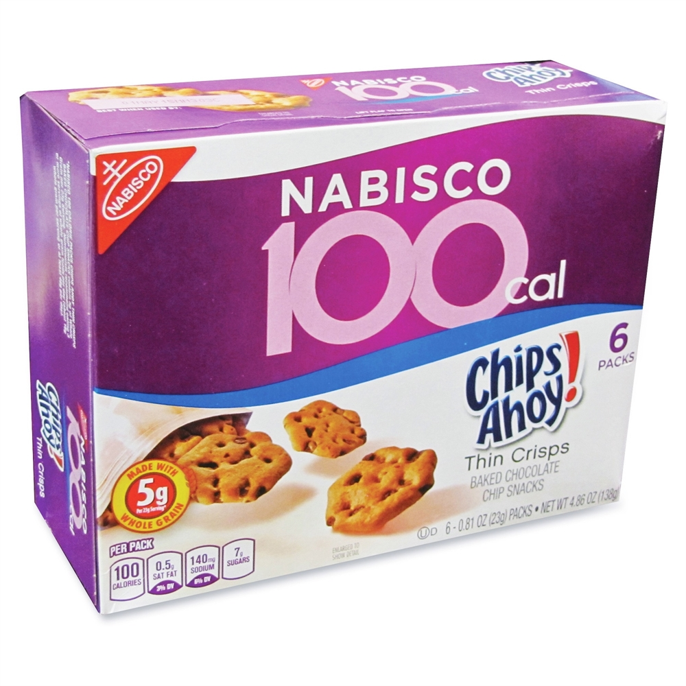 Chips Ahoy! Nabisco 100-Cal Thin Crisps Snacks