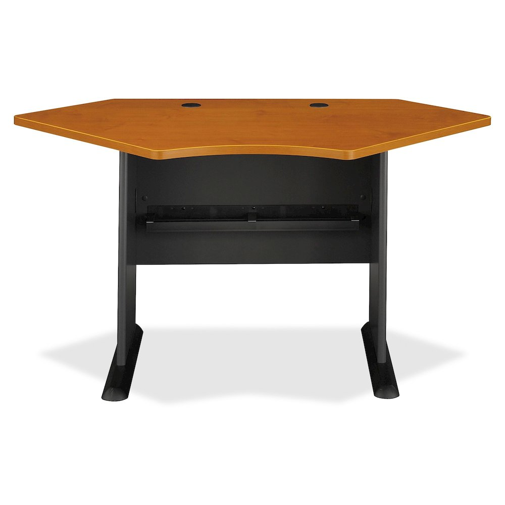 bush business furniture series a 42w corner desk l shaped base 1 table top thickness. Black Bedroom Furniture Sets. Home Design Ideas