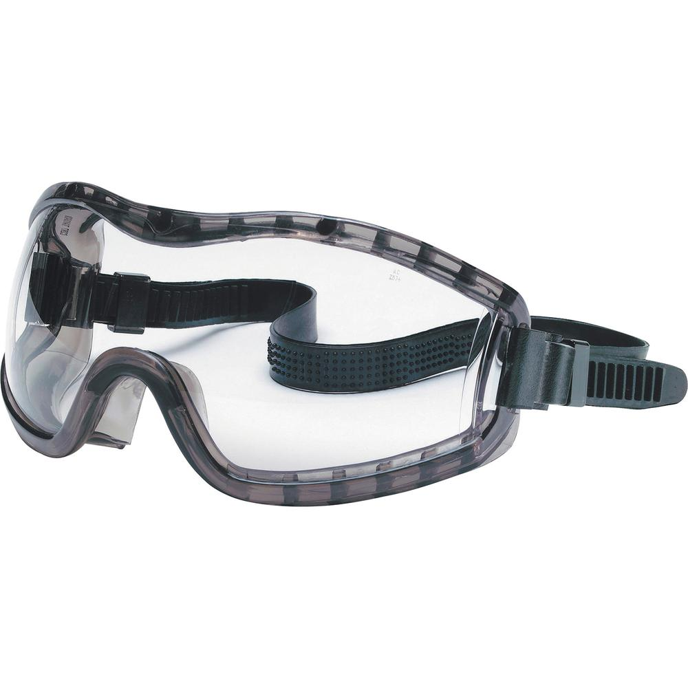 MCR Safety Stryker Safety Goggles - Anti-fog, Indirect Ventilation - Flying Particle Protection - Polyvinyl Chloride (PVC) Frame - Clear - 1 Each. Picture 1