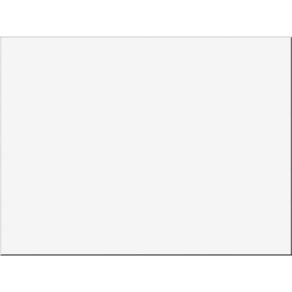 "Tru-Ray Construction Paper - Project, Bulletin Board - 24"" x 18"" - 50 / Pack - White - Sulphite. Picture 1"