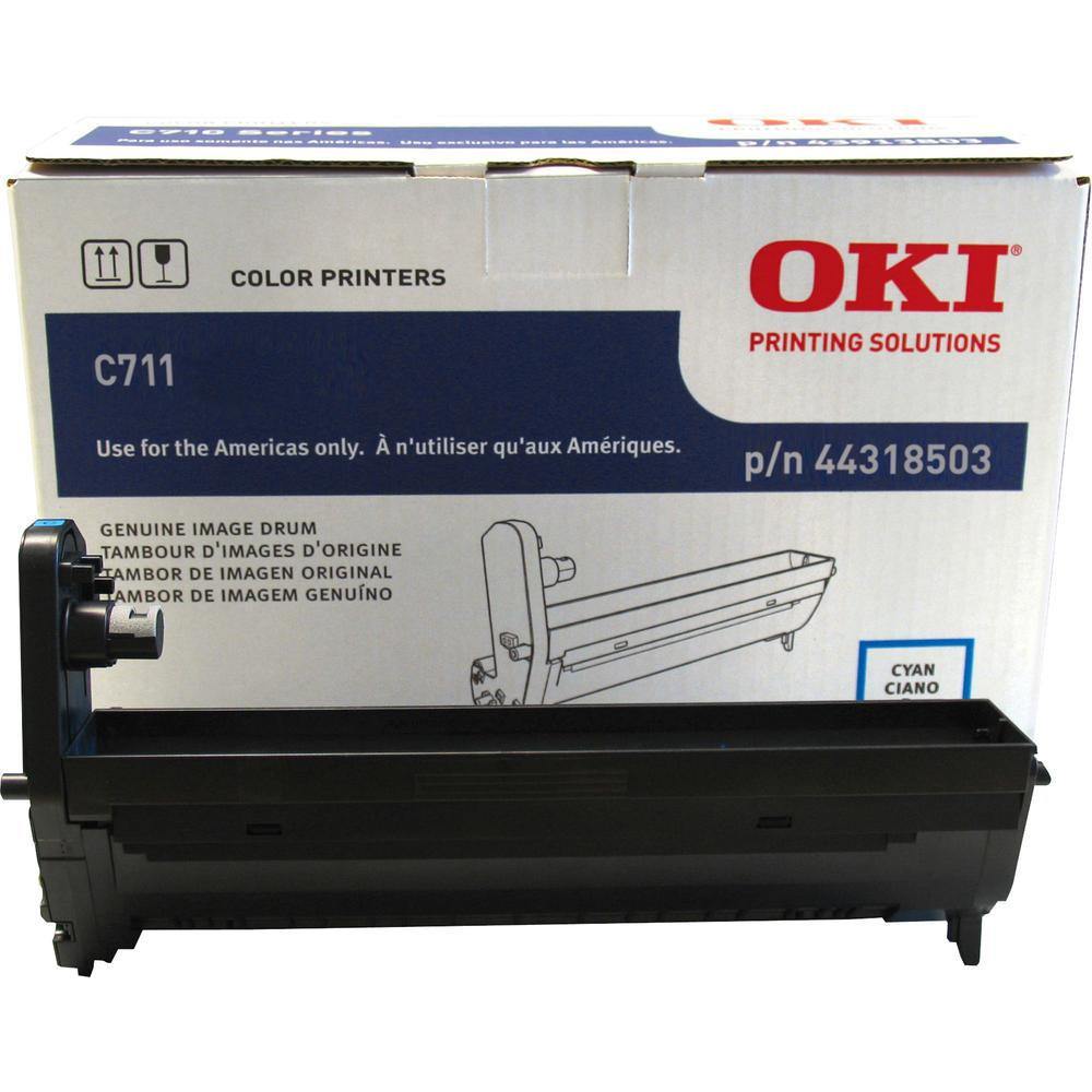 Oki 44318501/02/03/04 Image Drum - LED Print Technology - 20000 - 1 Each. Picture 1