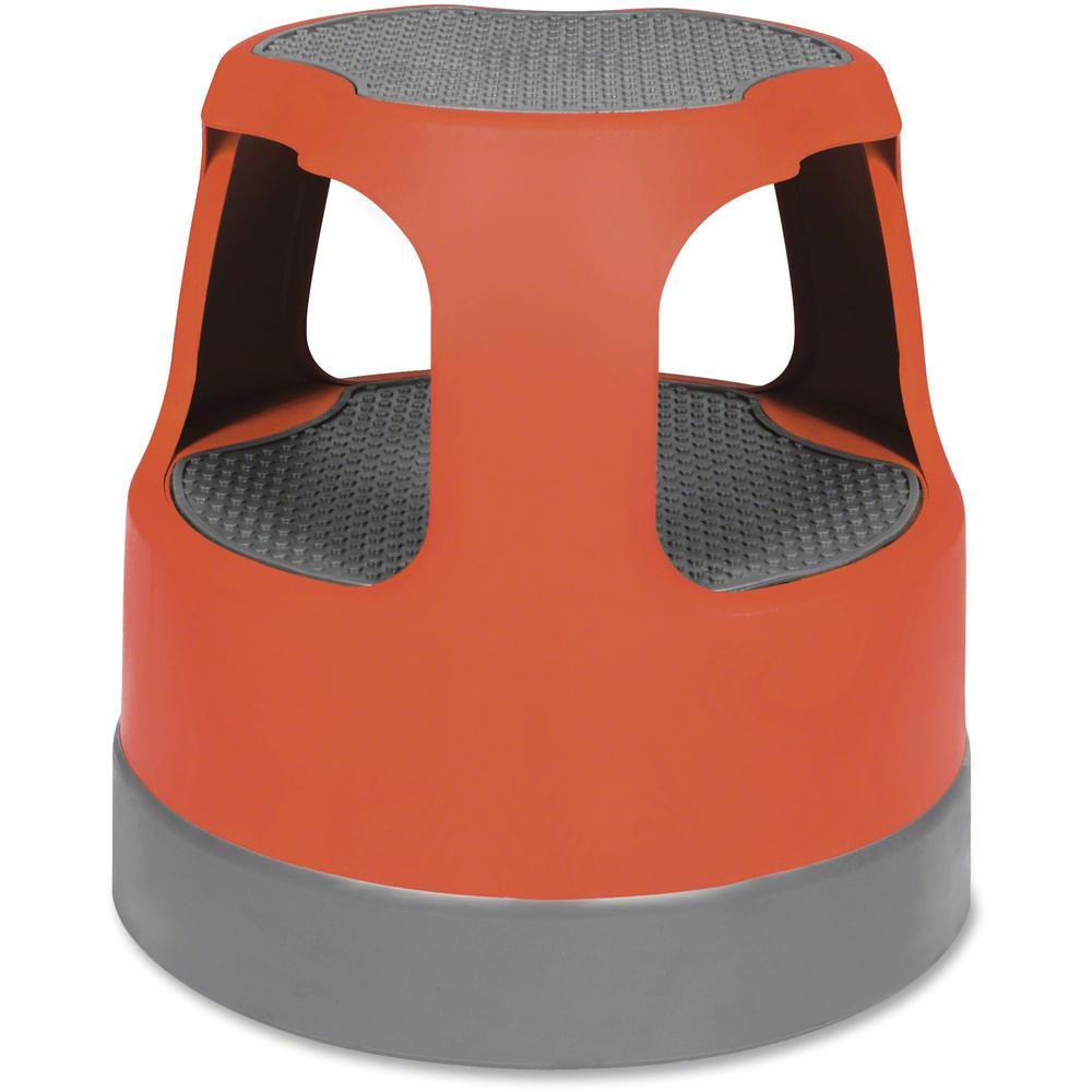 """Cramer Scooter Stool - 2 Step - 300 lb Load Capacity - 16"""" x 16"""" - Red. Picture 1"""