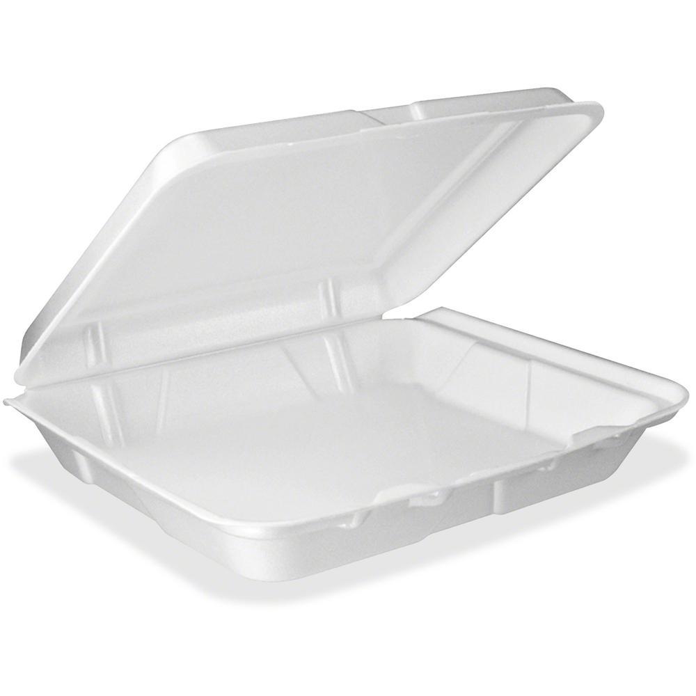 Dart Single-compartment Foam Container - Food Container - Foam - 200 Piece(s) / Carton