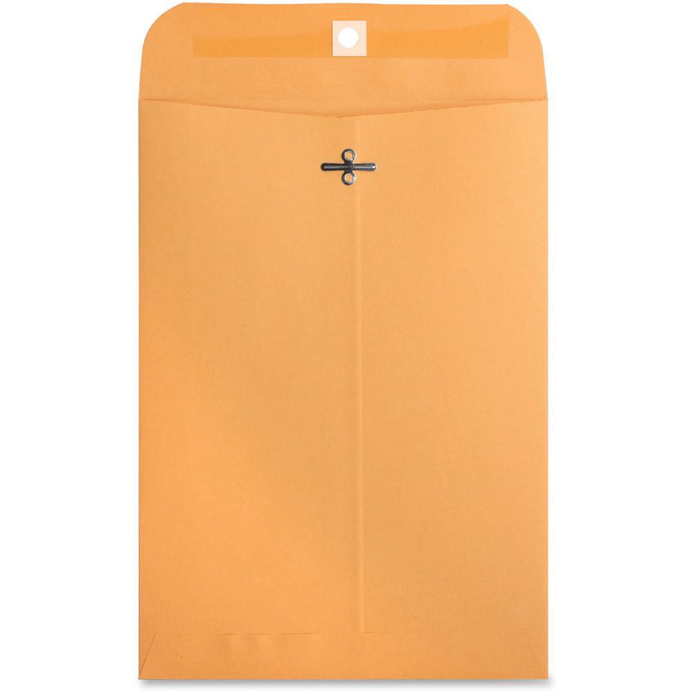 Business Source 32 lb Kraft Clasp Envelopes