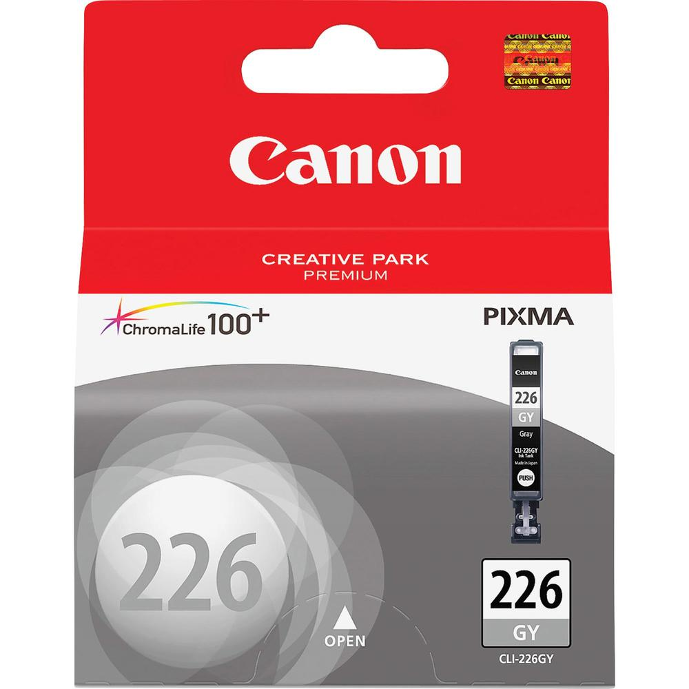 Canon CLI-226GY Original Ink Cartridge - Inkjet - 515 Pages - Gray - 1 Each. Picture 1
