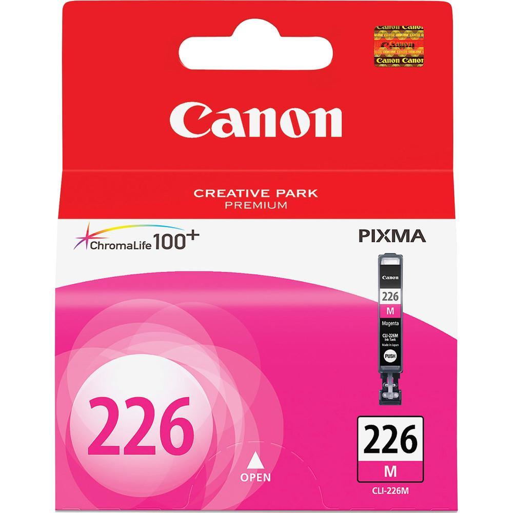 Canon CLI-226MA Original Ink Cartridge - Inkjet - Magenta - 1 Each. Picture 1
