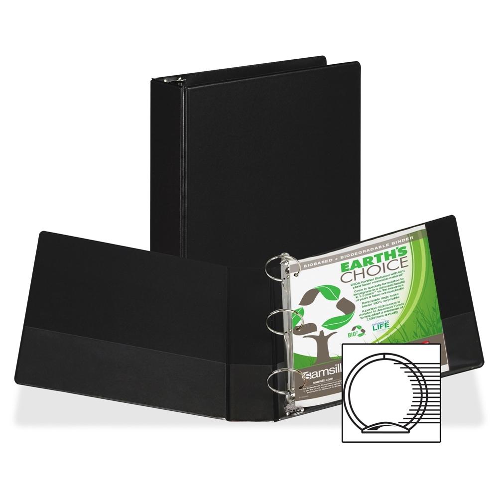 Samsill Round Ring Storage Binder 2 Quot Binder Capacity