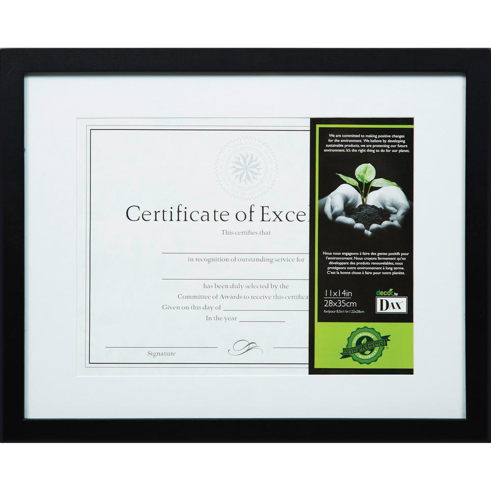 DAX FSC Certified Black Wooden Frame - 11\
