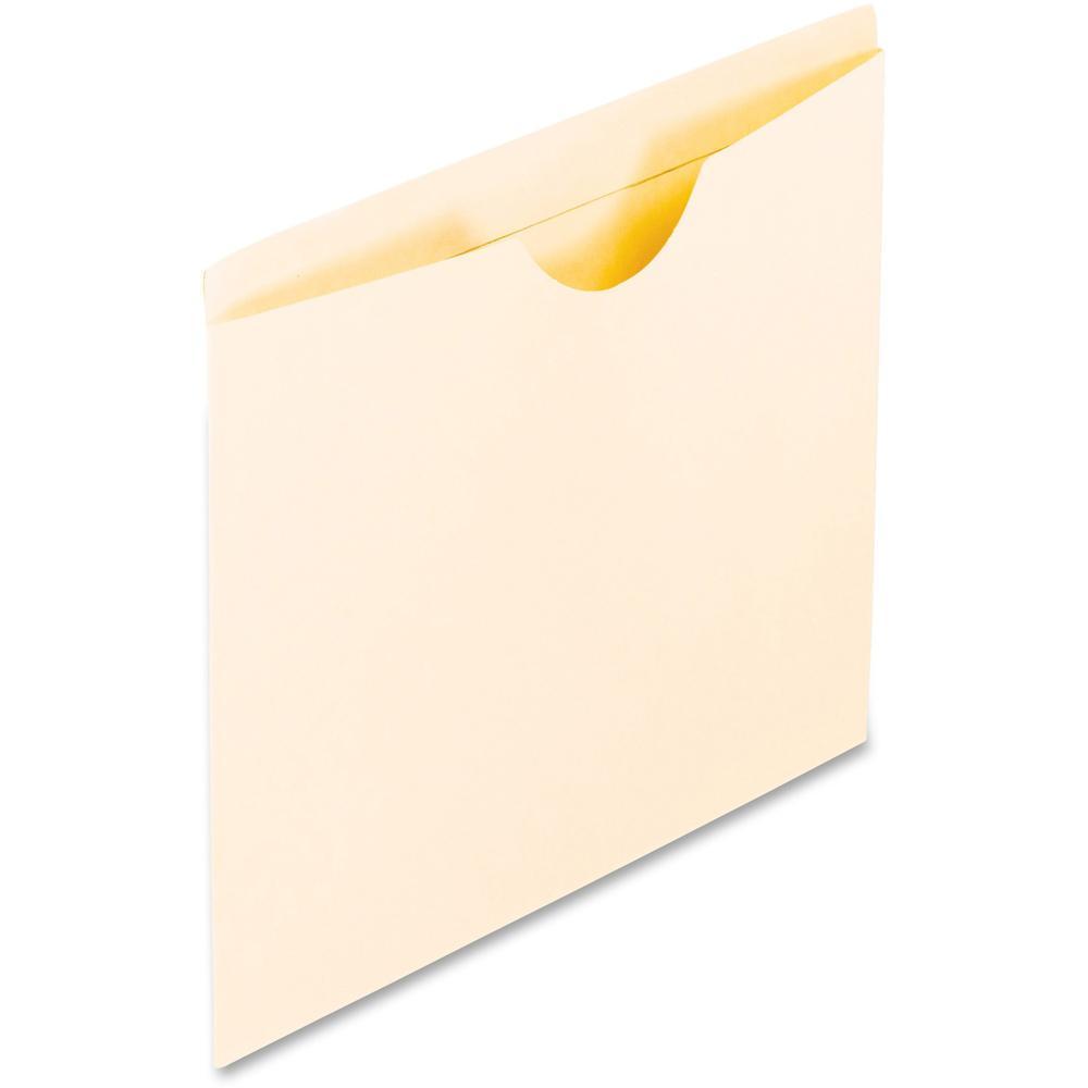 "Pendaflex Letter Recycled File Jacket - 8 1/2"" x 11"" - Manila - Manila - 10% - 100 / Box. Picture 1"