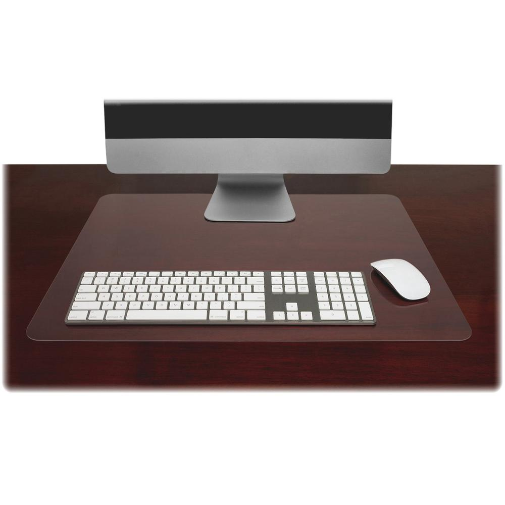 Lorell Matte Finish Rectangular Desk Pads Rectangle 24