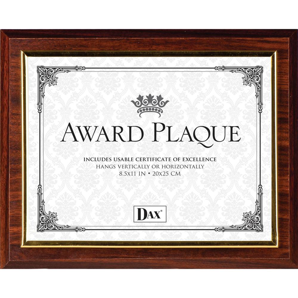 DAX Insertable Plaque - Holds 8.50\