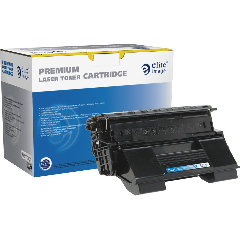 Elite Image Remanufactured Toner Cartridge - Alternative for Xerox (113R00712) - Laser - High Yield - Black - 19000 Pages - 1 Each. Picture 1