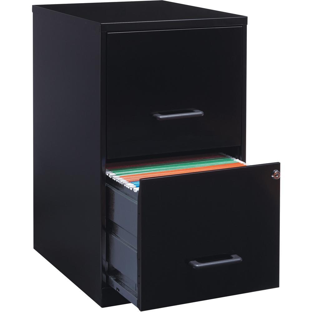lorell soho 18 2 drawer file cabinet 14 3 x 18 x 24 2 x drawer s for file locking. Black Bedroom Furniture Sets. Home Design Ideas