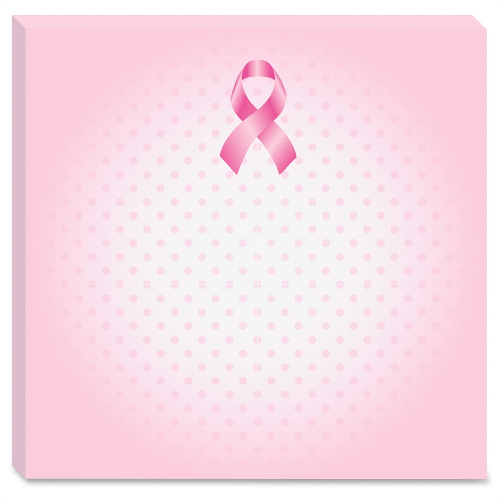 Post It Super Sticky Breast Cancer Awareness Notes 3 In X