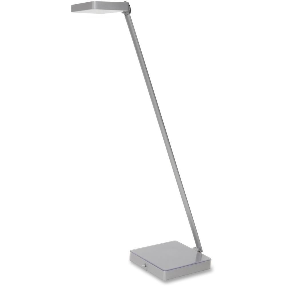 Alba Led Desk Lamp 1 X 6 W Bulb Weighted Base Articulated Arm