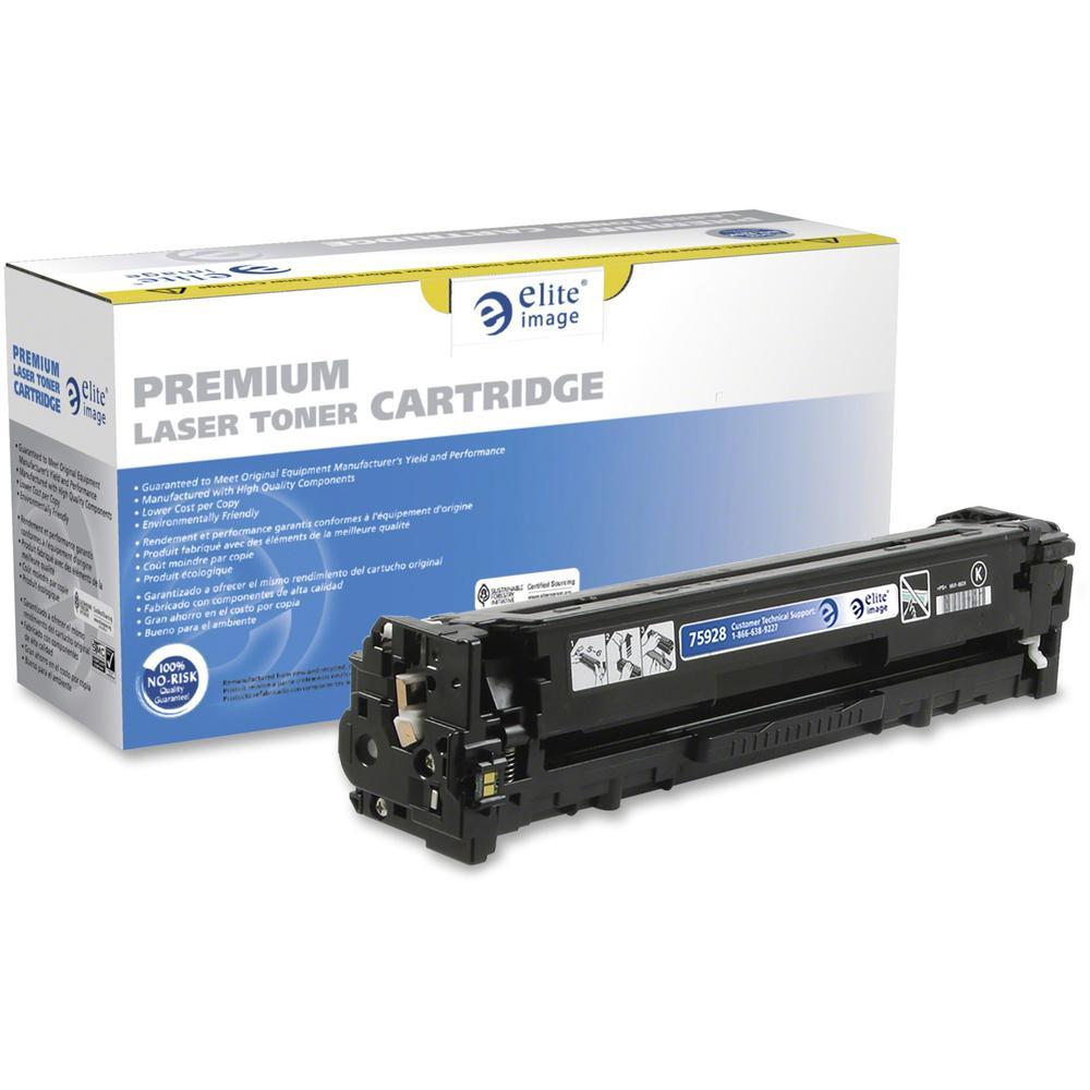 Elite Image Remanufactured Toner Cartridge - Alternative for Canon (CRTDG131BK) - Laser - Black - 1 Each. Picture 1