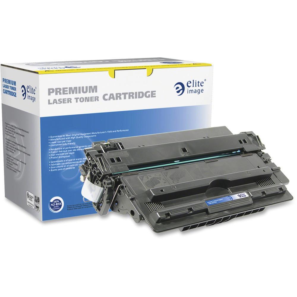 Elite Image Remanufactured Toner Cartridge - Alternative for HP 14A - Black - Laser - 10000 Pages - 1 Each. Picture 1