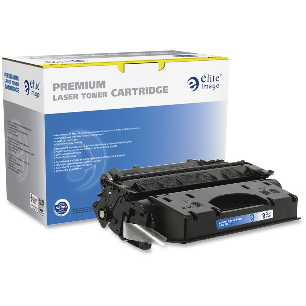 Elite Image Remanufactured Toner Cartridge - Alternative for HP 80X (CF280X) - Laser - Extended High Yield - Black - 8000 Pages - 1 Each. Picture 1