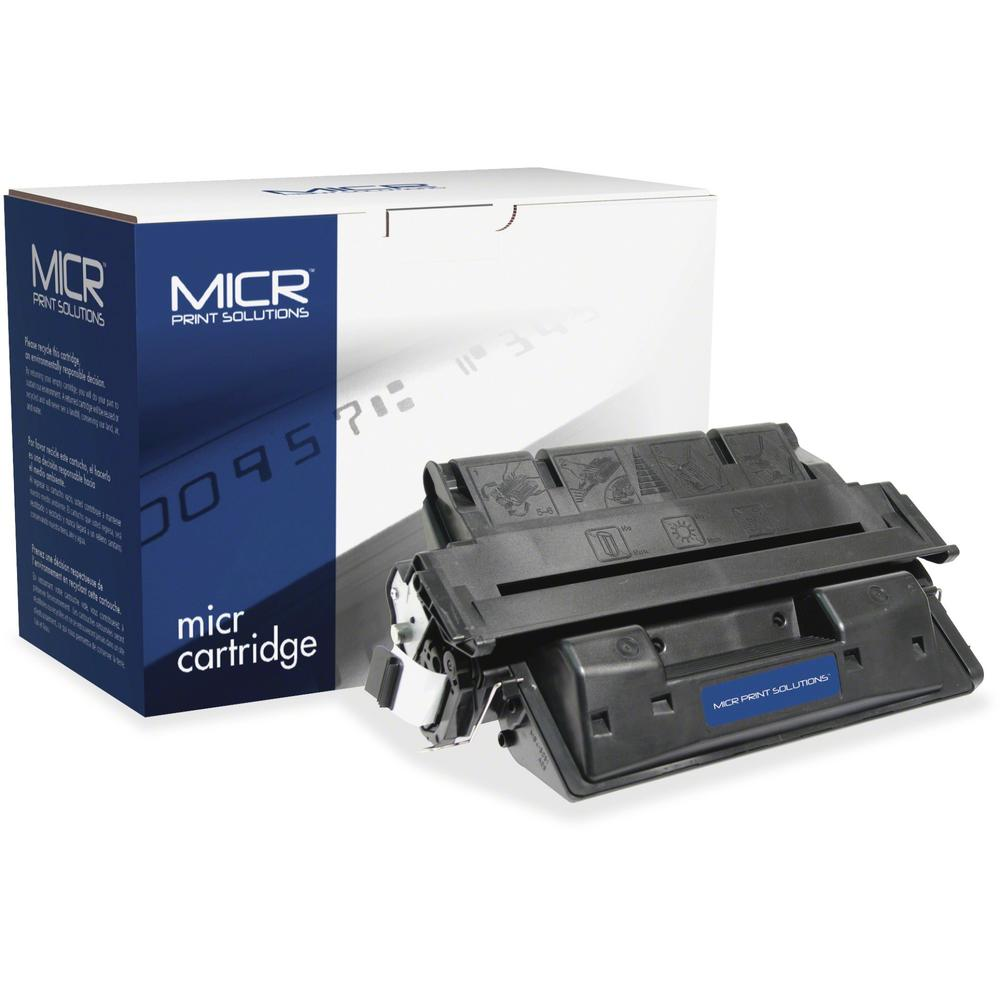 MICR Tech Remanufactured MICR Toner Cartridge - Alternative for HP 61X (C8061X) - Laser - High Yield - 10000 Pages - Black - 1 Each. Picture 1