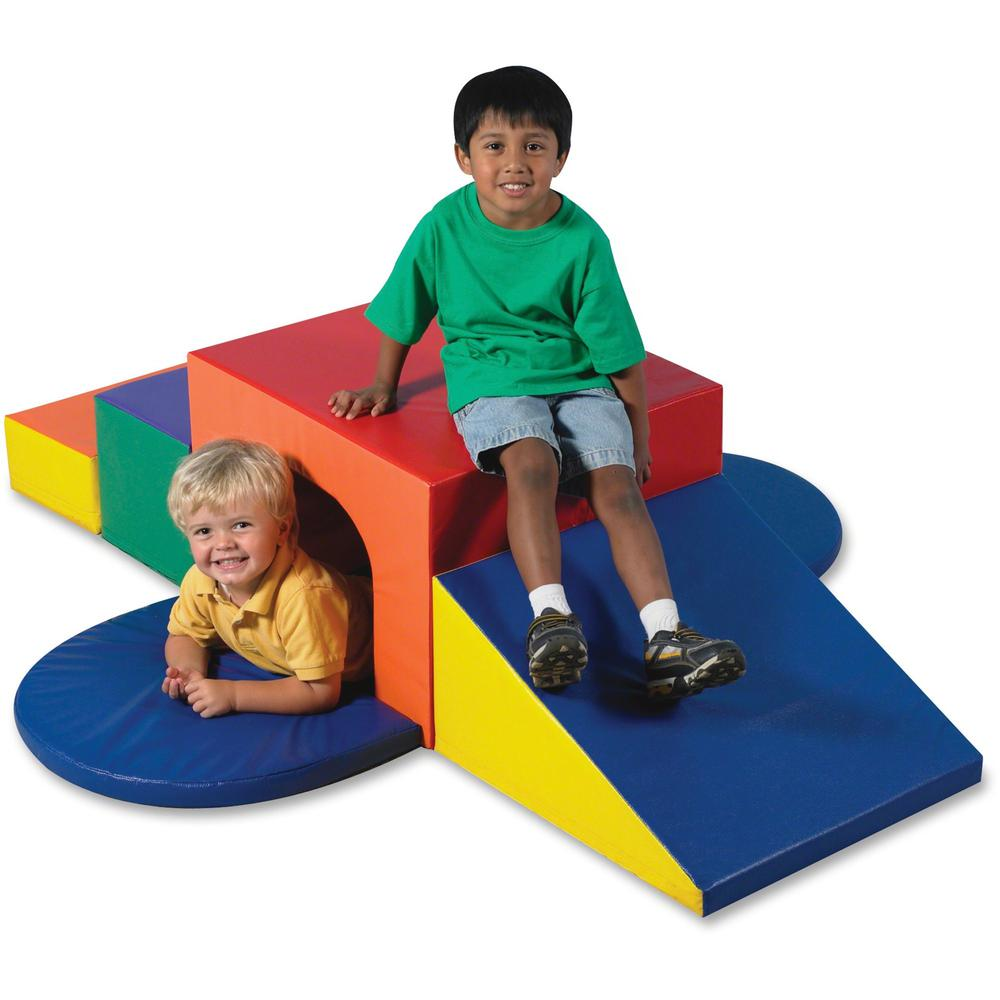 Children's Factory Soft Tunnel Climber - Multi - Foam. The main picture.