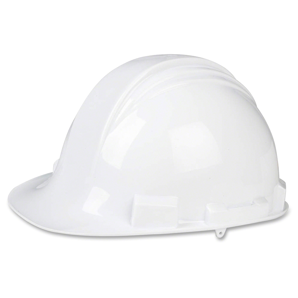 North hdpe shell hard hat head rain protection
