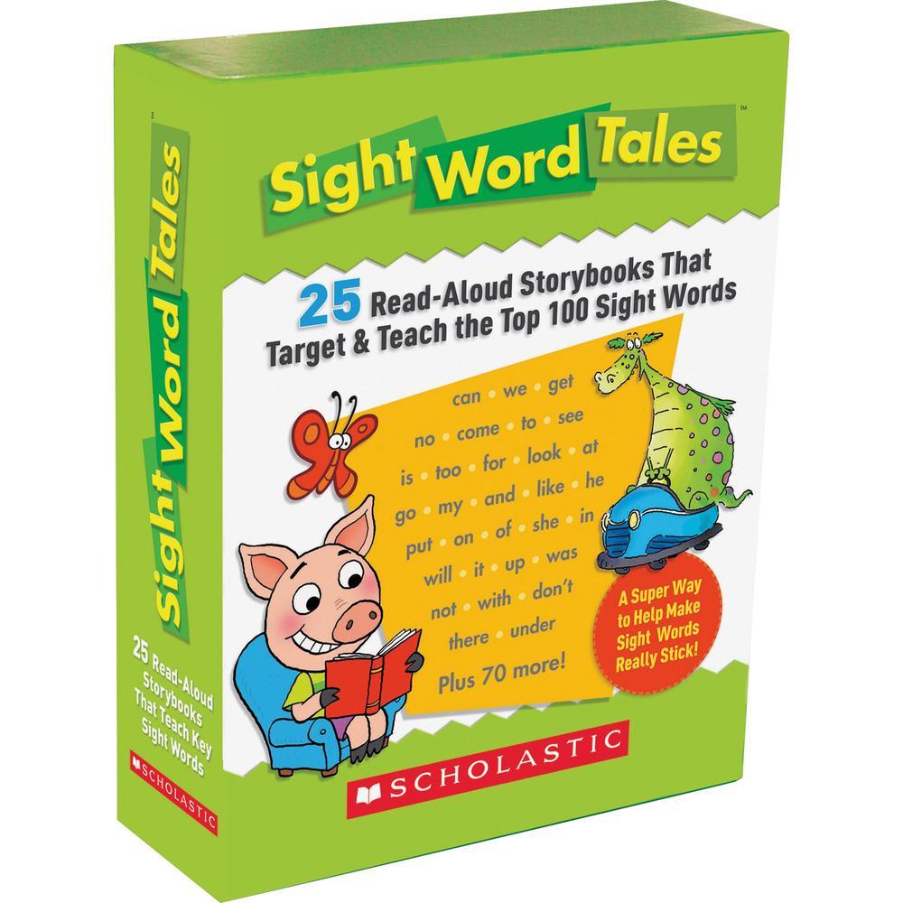 Scholastic Res. Grade K-2 Sight Word Tales Box Set Printed Book - Book - Grade K-2 - English. Picture 1
