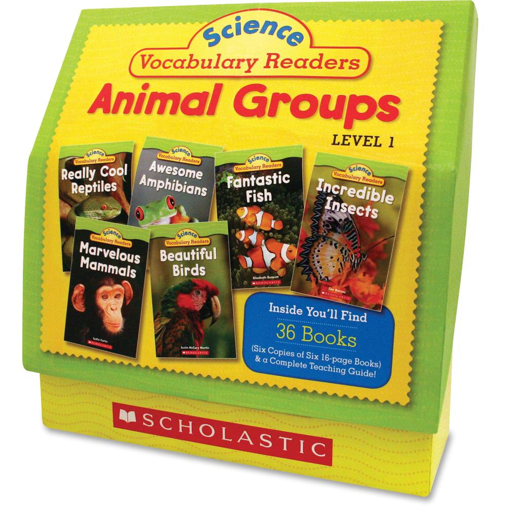 Scholastic Res. Vocabulary Readers Animal Groups Printed Book by Liza Charlesworth - Book - Grade 1-2 - English. Picture 1