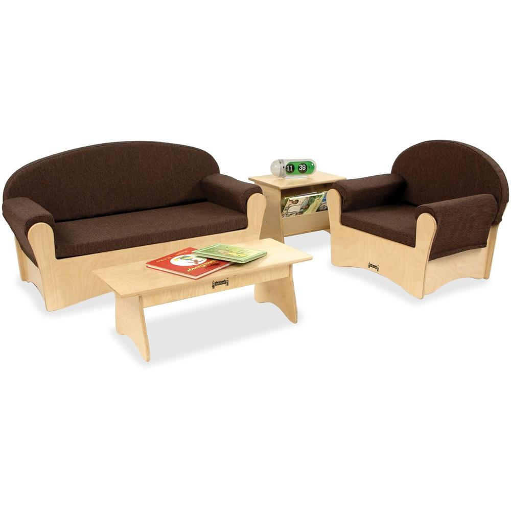 Jonti-Craft Komfy Sofa 4-piece Set - Rounded Edge. Picture 1