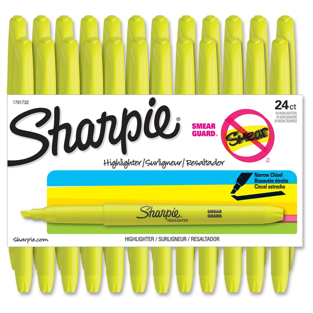 Sharpie Chisel Tip Highlighter Chisel Marker Point Style