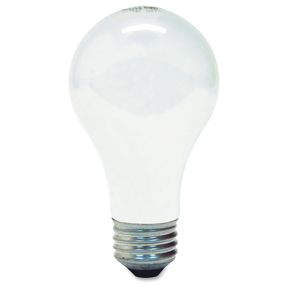 Ge lighting 43w energy efficient a19 bulb 43 w 120 v ac a19 size white e26 base 1000 Light bulbs energy efficient