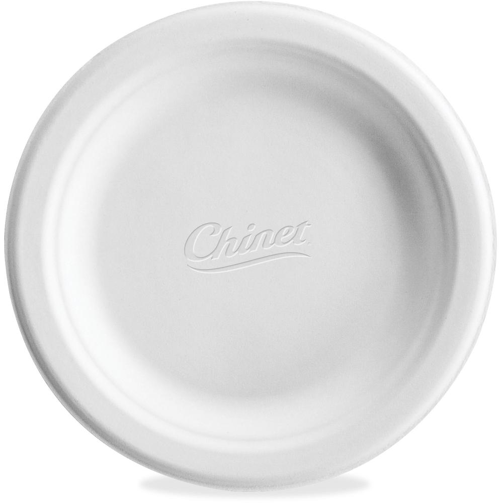 Chinet Paper Dinner Plates - 6  Diameter Plate - Paper Plate - Disposable - Microwave Safe - 1000 Piece(s) / Carton  sc 1 st  Bison Office : chinet dinner plates - Pezcame.Com