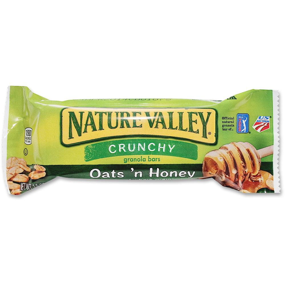 NATURE VALLEY Nature Valley Granola Bars, Peanut Butter Cereal, 1.5oz ...