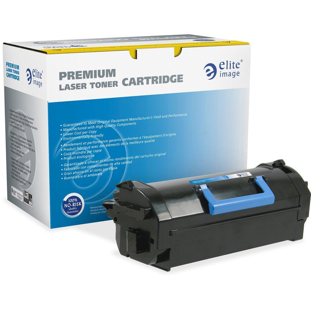 Elite Image Remanufactured Toner Cartridge Alternative For Dell - Laser - 6000 Pages - Black - 1 Each. Picture 1