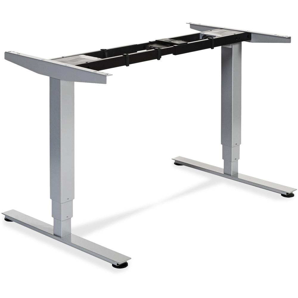 Lorell Electric Height Adjustable Sit Stand Desk Frame 2